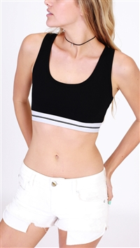 HYFVE Black Sporty Top