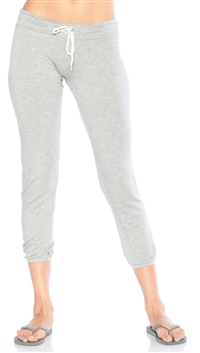 Monrow Heather Gray Vintage Sweat Pants