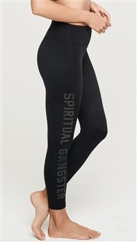 Spiritual Gangster Black '7/8 Practice' Leggings
