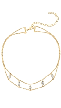 Five And Two Gold 'Joie' Choker