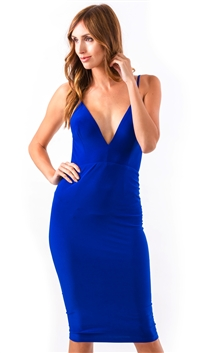 Abyss Royal Blue Kylie Cocktail Dress