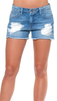 Frame Denim Clover Cut Off Jean Shorts