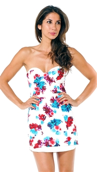 Lovers + Friends Tossed Bouquet New Dawn Bodycon Mini Dress