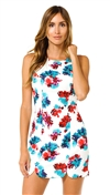 Lover + Friends Tossed Bouquet Jetset Bodycon Mini Dress