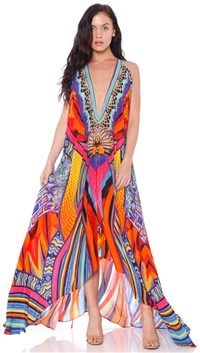 Parides Sunset 3 Way To Style Long Dress