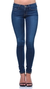 Frame Denim Blue Le Color Skinny Jeans