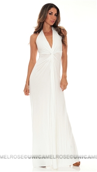 Michelle Jonas White Maxi Dress