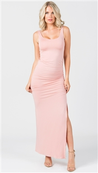 Nicole Andrews Pink Sand 'Forever' Maxi Dress