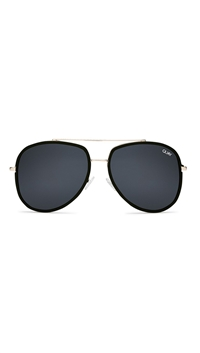 Quay Black Frame/Smoke Lens 'Needing Fame' Sunglasses