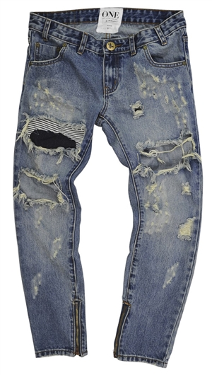One Teaspoon Dusty Freebird Jeans