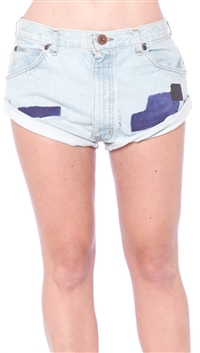 One Teaspoon Lighties 'Vintage Bandits' Jean Shorts