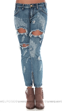 One Teaspoon Cobain 'Trashed Free Birds' Jeans