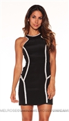 Parker NY Black Bruna Dress