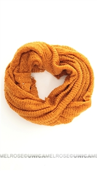 Paula Bianco Orange Scarf