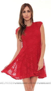 Nightcap Red Lace Dress
