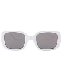 "Quay White/Gold '""20's"" Sunglasses"
