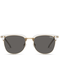 "Quay Clear/Smoke ""Evasive"" Sunglasses"