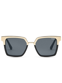 "Quay Black Gold/Smoke ""Ugrade"" Sunglasses"