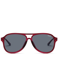 "Quay Red/Smoke ""Under Pressure"" Sunglasses"