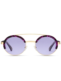 "Quay Purp/Tortoise ""Come Around"" Sunglasses"