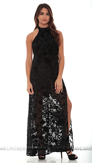 Flynn Skye Black Maxi Dress