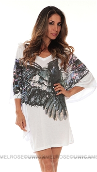 Religion White Royal Kaftan Top