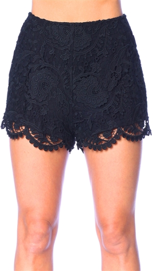 Stone Cold Fox Black Scorpio Bloomers Shorts