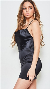 SALTY Ladies Black Knit Dress