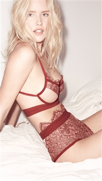 For Love & Lemons Rose 'Loucette' Hi-Waist Panty