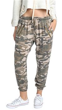 Unica Exclusive Taupe Camo Jogger Pants