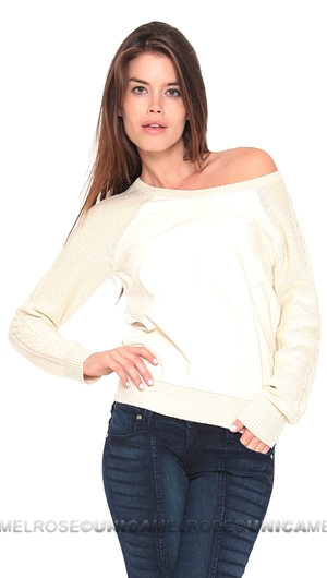 Townsen Cream Evergreen Sweater
