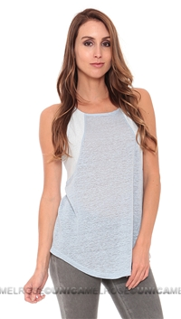 Townsen Denim Blue Alison Tank