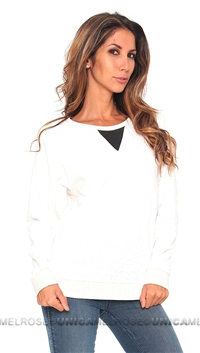 Townsen Cream Cheetean Pullover