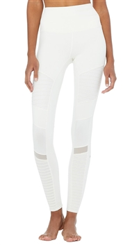 Alo Yoga Pristine High-Waist 'Moto' Leggings