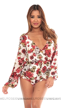 Winston White Floral Joey Romper