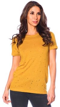 Iro Mustard Yellow Clay T Shirt