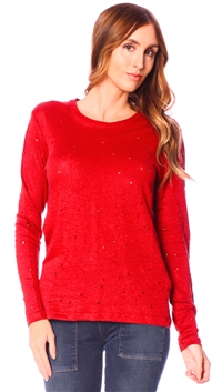Iro Red Marvina T Shirt