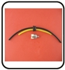 (#6) Original Mantis Tiller Parts # A665 Fuel Hose Kit With Filter and Grommet