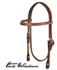 Bridle Leather Browband Headstall