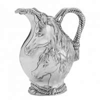 Arthur Court Horse Head Rope Pitcher