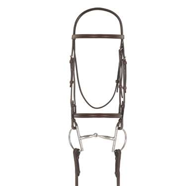 Camelot™ Plain Raised Snaffle Bridle