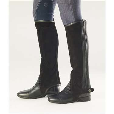 Ovation® Ribbed Suede Half Chap - Ladies'