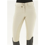 Ovation® Celebrity Slim Secret EuroWeave™ DX Front Zip Full Seat Breech - Ladies'
