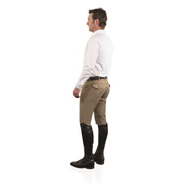 Ovation® EuroWeave™ DX 4-Pocket Front Zip Full Seat Breech - Men's
