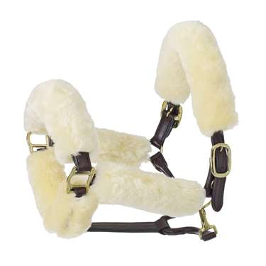 Europa Sheepskin 6-Piece Halter Set