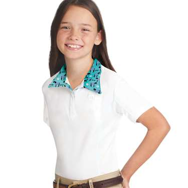 Romfh® Sarah Child's Show Shirt- Short Sleeve