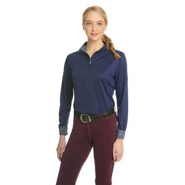 Ovation® Ladies' Cool Rider Tech Shirt- Long Sleeve
