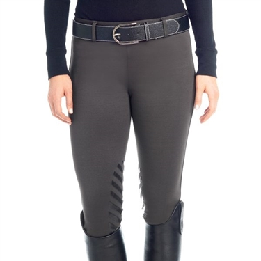 Ovation Winter Pull On Silicone Knee Patch Breech- Ladies'