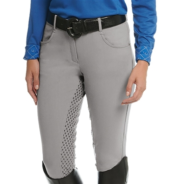 Ovation Euro Melange X-Grip Full Seat Breech- Ladies'