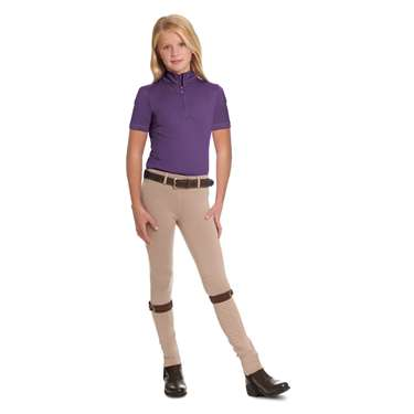 Ovation® Child's Cool Rider Tech Short Sleeve Shirt